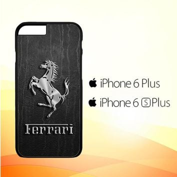 Ferrari Logo Wallpapers X4574 iPhone 6 Plus|6S Plus Case