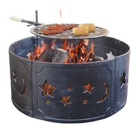 Landmann USA 28325 Big Sky Fire Ring, Stars & Moons Design (Discontinued by Manufacturer)
