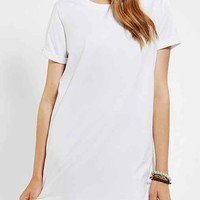 Silence + Noise Blanc T-Shirt Dress-