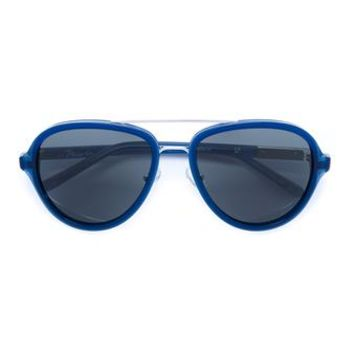 LINDA FARROW   Double Bridge Acetate Sunglasses   brownsfashion.com   The Finest Edit of Luxury Fashion   Clothes, Shoes, Bags and Accessories for Men & Women
