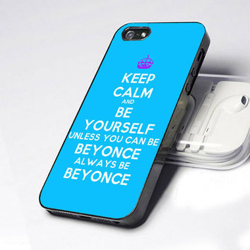 Case iphone 4 and 5 for Keep Calm and Be Your Self