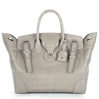 Matte Alligator Soft Ricky Bag