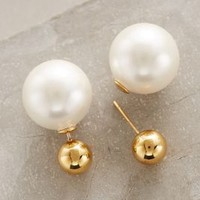 Palazzo Pearl-Backed Studs by Amber Sceats