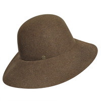 Karen Kane Raw Edge Wide Brim Hat