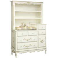Bonne Nuit French Versatile Dressed Hutch in Versailles Finish