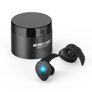 Wireless Earbuds True Wireless Stereo Bluetooth 4.2 Earphones