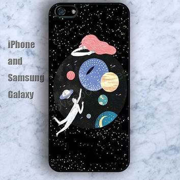 sun moon  stars to fly colorful iPhone 5/5S case Ipod Silicone plastic Phone cover Waterproof
