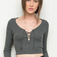 Brandy ♥ Melville | Search results for: 'lace up top'