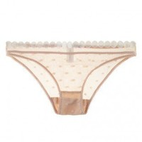 Buy Stella McCartney luxury lingerie - Stella McCartney Fiona Popping Bikini  | Journelle Fine Lingerie