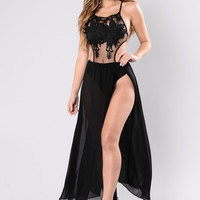 Just Know Dress - Black