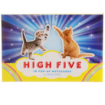 Hilarious High Five Notecards Set