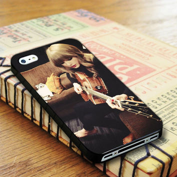 Taylor Swift Guitar Taylor Swift Singer iPhone 4 | iPhone 4S Case