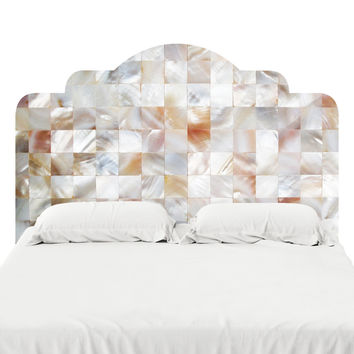 Mother of Pearl Headboard Decal