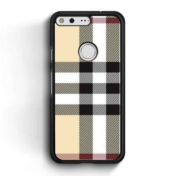Burberry Pattern Google Pixel Case