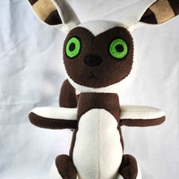 Momo Plush inspired by Avatar the Last Airbender