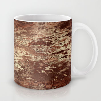 Brown wood bark texture Mug by Natalia Bykova