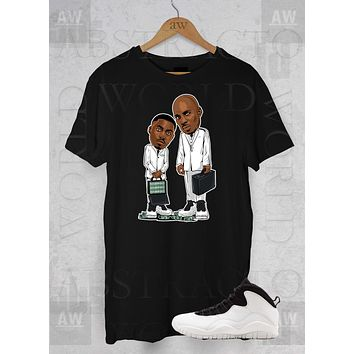 Dmx Nas Belly Movie Jordan 10 Im Back Graphic Tee Unisex T Shirt