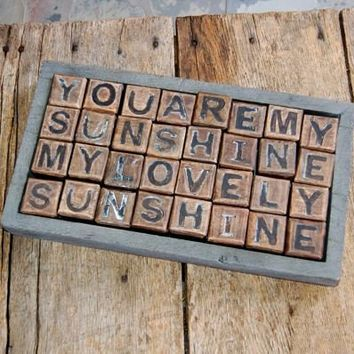 Blocks--You Are My Sunshine