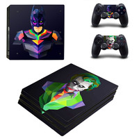 PS4 Pro Skin Sticker Cover For Sony Playstation 4 Pro Console&Controllers - The Dark Knight