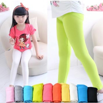 Girls Modal Leggings