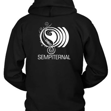 Bring Me The Horizon Sempiternal Artwork Hoodie Two Sided