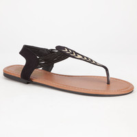 Celebrity Nyc Grandstep Womens Sandals Black  In Sizes