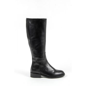 V 1969 Italia Womens High Boot C20 VITELLO NERO