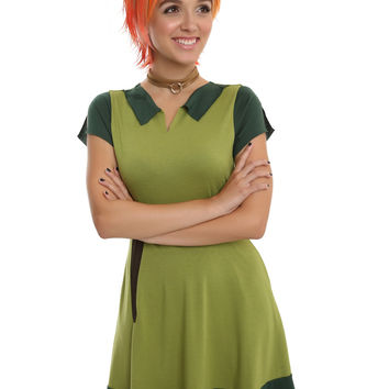 Disney Peter Pan Cosplay Dress