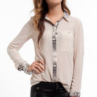 Cold Blooded Blouse $42
