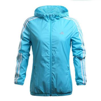 Blue Adidas Originals Women's Adidas Skateboarding Windbreaker
