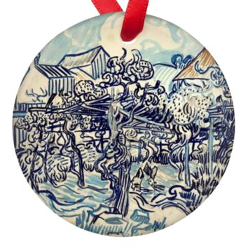 Vincent Van Gogh Art Porcelain Ornaments