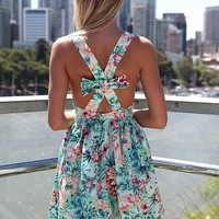 AMAZON CROSS BOW BACK DRESS , DRESSES,,Minis Australia, Queensland, Brisbane
