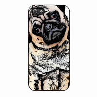 pugs alot dog For IPHONE 4S Case *02*