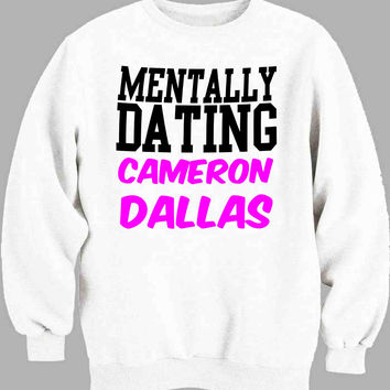 Mentally Dating Cameron Dallas Sweater for Mens Sweater and Womens Sweater *