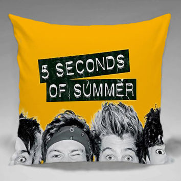 5SOS  - Square and Regtagular Pillow Case One Side/Two Side.
