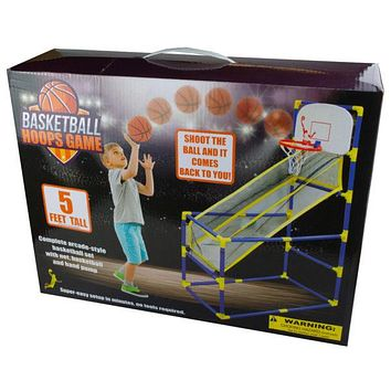 Arcade-Style Basketball Hoops Game