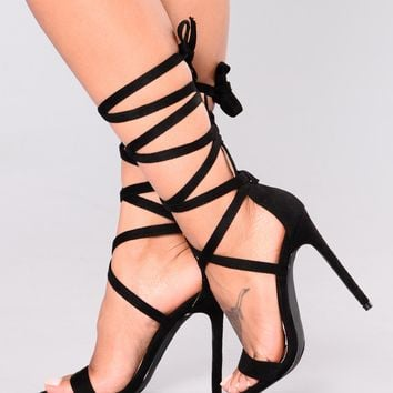 J-Block Heel - Black