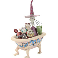 The Nightmare Before Christmas Lock Shock & Barrel Tub Figurine