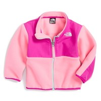 The North Face Infant Girl's 'Denali' Recycled Fleece Jacket,