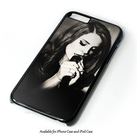 Lana Del Rey Sexy Design for iPhone and iPod Touch Case