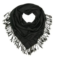 Premium Oversize Large Solid Color Soft Square Scarf - Different Colors Available