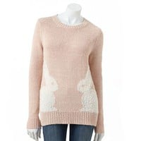 LC Lauren Conrad Bunny Sweater