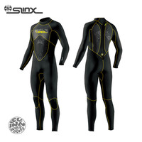 SLINX SPRO 1101 3mm Neoprene Men Full Body Wetsuit Scuba Diving Suit for Windsurfing Snorkeling Kite Surfing Spear Fishing