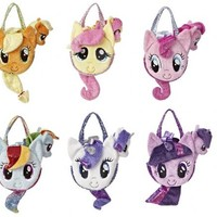 My Little Pony Friendship is Magic Pony Tail Carrier Purse