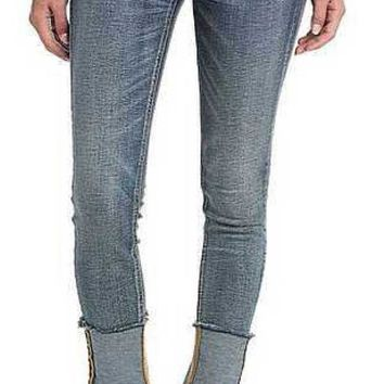 ICIKAB3 Miss Me High Rise Vintage Blue Ankle Skinny Jeans