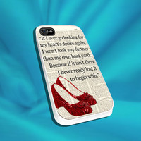 Dictionary Style Wizard of Oz For iPhone 4/4s,5/5s/5c, Samsung S3,S4,S2, iPod 4,5, HTC ONE