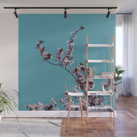 Tree in spring Wall Mural by vanessagf