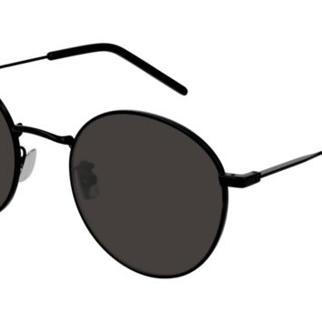 Saint Laurent - SL 250 Black Sunglasses / Black Lenses