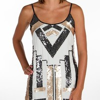 BKE Boutique Sequin Tank Top - Women's Shirts/Tops | Buckle