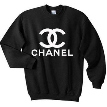 CHANEL Fashion Casual Long Sleeve Sport Top Sweater Pullover Sweatshirt